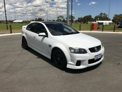 2012 Holden Commodore VE II MY12.5 SV6 White 6 Speed Automatic Sedan