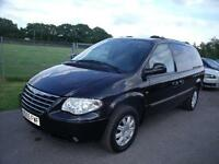CHRYSLER GRAND VOYAGER LIMITED XS CRDA 7 SEATS, Black, Auto, Petrol, 2005