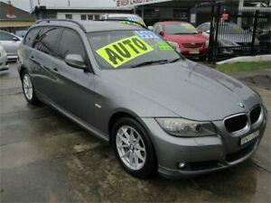 2010 BMW 320d E91 MY09 Executive Touring Grey 6 Speed Auto Steptronic Wagon New Lambton Newcastle Area Preview