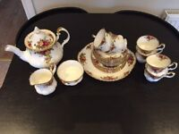 Royal Albert Tea Set - Old Country Rose