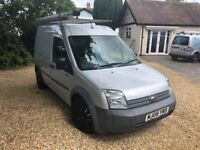 Silver Ford Transit Connect just had a brand new clutch fitted and has an MOT until May 2019