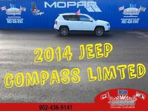 2014 Jeep Compass Limited Back up Camera, Sunroof Leather