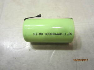 Ni-Mh battery with strips