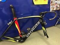 Specialized Venge 54cm frame with extras