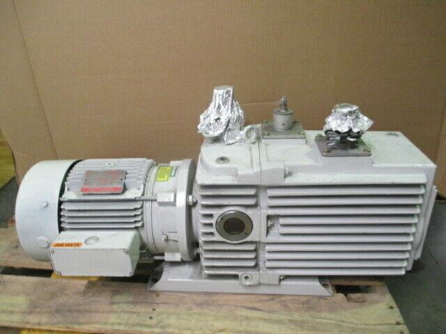 Leybold D60 Vacuum Pump, General Electric GE 5K184FX3440 Motor, 453522
