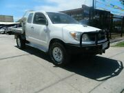 2008 Toyota Hilux KUN26R 08 Upgrade SR (4x4) White 5 Speed Manual X Cab Cab Chassis Williamstown North Hobsons Bay Area Preview