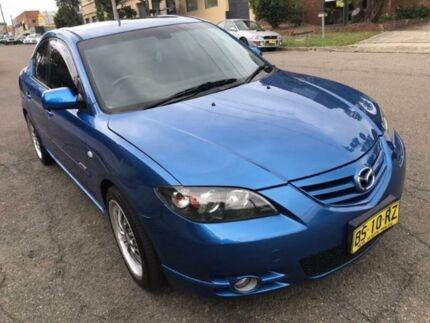 2004 Mazda 3 BK1031 SP23 Blue 5 Speed Manual Sedan