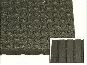 Quality 4 x 6 x 3/4 Rubber Mats - Made in Canada! Ideal for CrossFit, Olympic Lifting, Weight Rooms, Boxing Gyms