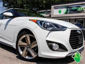 '13 Hyundai Veloster Turbo+NAV+B/T+Roof+Leather! $90/Pmts!!