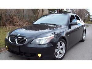 2005 BMW 5 Series 545i  P.LEATHER SEATS,P.SUNROOF,CERTIFIED$5975