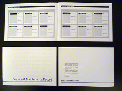 SMART CAR SERVICE BOOK PORTFOLIO HISTORY MAINTENANCE RECORD BRAND NEW BLANK