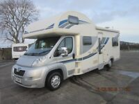 2012 BAILEY APPROACH 760 SE SIX SPEED 130PHP 6 BERTH MOTORHOME WITH 56K MILES