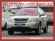 2004 Lexus RX330 MCU38R Sports Silver 5 Speed Sequential Auto Wagon Homebush Strathfield Area Preview