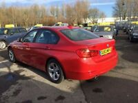 BMW 3 SERIES 2.0 320D EFFICIENTDYNAMICS 4d 161 BHP (red) 2013