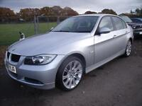 BMW 3 SERIES 318I SE, Silver, Manual, Petrol, 2007