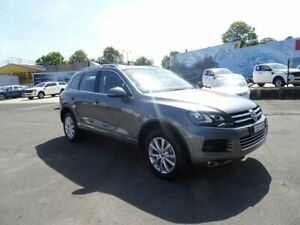 2013 Volkswagen Touareg 7P MY13 150TDI Tiptronic 4MOTION Canyon Grey 8 Speed Sports Automatic Wagon Nowra Nowra-Bomaderry Preview