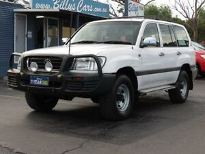 2002 Toyota Landcruiser FZJ105R GXL (4x4) White 5 Speed Manual 4x4 Wagon Condell Park Bankstown Area Preview