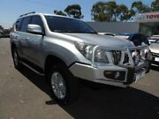 2011 Toyota Landcruiser Prado KDJ150R VX Silver 5 Speed Sports Automatic Wagon Oakleigh Monash Area Preview