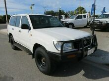 1999 Toyota Landcruiser HZJ105R (4x4) White 5 Speed Manual 4x4 Wagon Reynella Morphett Vale Area Preview