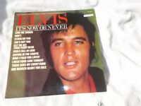 Vinyl LP It's Now Or Never – Elvis Presley RCA Camden EDS 1203 Mono 1981