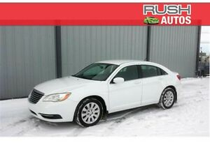 2012 Chrysler 200 LX  FWD **LOW MILEAGE, TOURING SUSPENSION**
