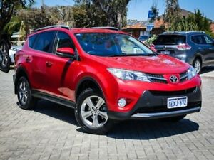2015 Toyota RAV4 ZSA42R GXL 2WD Red 7 Speed Constant Variable Wagon Morley Bayswater Area Preview