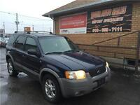 2002 Ford Escape XLT Sport*** ONLY 177KMS ****4X4**AS IS SPECIAL