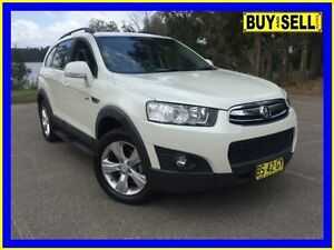 2012 Holden Captiva CG MY12 7 CX (4x4) White 6 Speed Automatic Wagon Lansvale Liverpool Area Preview