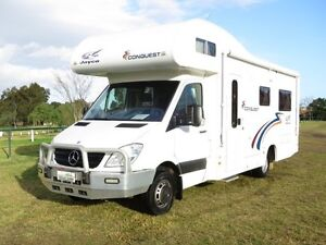 2011 Jayco Conquest – SINGLE BEDS - MERCEDES Glendenning Blacktown Area Preview