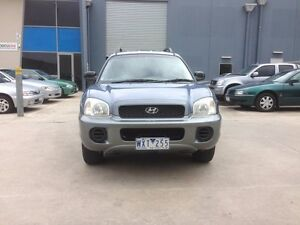 2001 Hyundai Santa Fe GL (4x4) Blue 4 Speed Automatic Wagon Newport Hobsons Bay Area Preview
