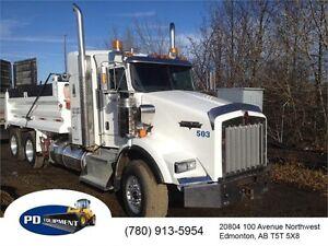 2012 Kenworth T800 T/A Dump Truck