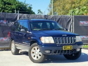 2001 Jeep Cherokee Blue Automatic 4-Door Wagon Carrara Gold Coast City Preview