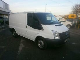 Ford Transit T280 SWB Low Roof Van Tdci 100Ps FWD DIESEL MANUAL WHITE (2013)