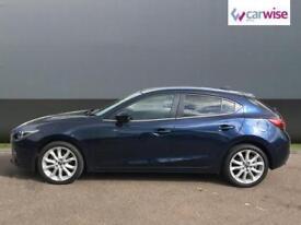 2015 Mazda 3 2.2d Sport Nav 5dr Auto Diesel blue Automatic