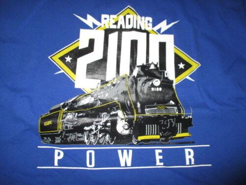 READING 2100 POWER Railroad (2XL) T-Shirt TRAINS