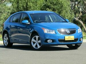 2013 Holden Cruze JH Series II MY14 Equipe Blue 5 Speed Manual Hatchback Strathalbyn Alexandrina Area Preview
