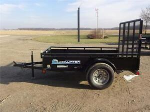 2017 Load Trail Single Axle Solid Side Utility SS Model!! London Ontario image 2