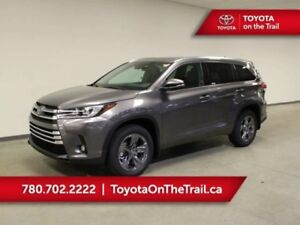 2019 Toyota Highlander LIMITED AWD; SHOWROOM SPECIAL!! LEATHER,