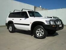2003 Nissan Patrol GU III ST (4x4) White 4 Speed Automatic Wagon Caboolture Caboolture Area Preview