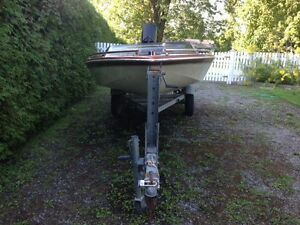 J-Craft Speed Boat / Ski Boat, 16 foot, 115 HP Mercury Outboard Cornwall Ontario image 3