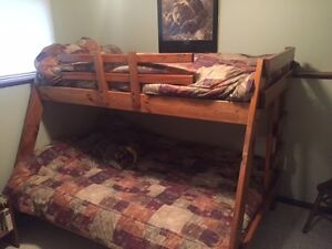 Solid Wood Bunk Bed - Fernie