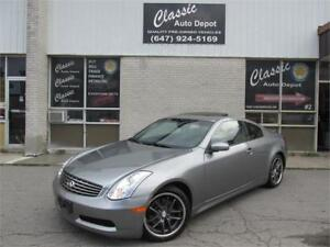 2006 INFINITI G35 COUPE *6SPD,LEATHER,SUNROOF,PRICED TO SELL!!!*
