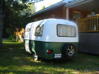 Mini  Boler trailer the perfect fishing hut