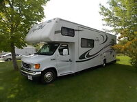 30 ft Jayco motorhome with 2 slide outs