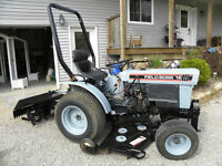 Field Boss Diesel Lawn Tractor with Attachments