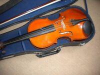 Skylark Full Size Violin (4/4), Bow & Hard Case