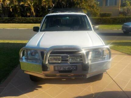 2003 Ford Courier 4 x 4 Banora Point Tweed Heads Area Preview