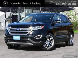 2016 Ford Edge Titanium - FULLY LOADED - AWD SUV - PERFECT FAMIL