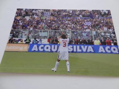 PAOLO MALDINI AC MILAN LEGEND LAST GAME 2009 SERIE A GLOSS PHOTOGRAPH Ac Milan Game