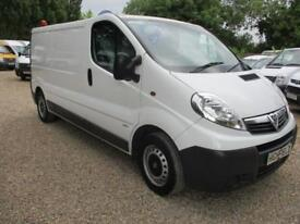 2014 Vauxhall Vivaro 2.0CDTi 115ps 2900 LWB NO VAT 70000MILES GUARANTEED